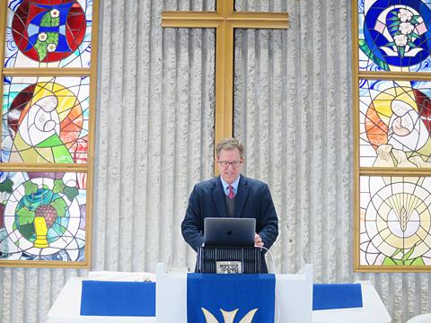 礼拝のオンライン授業