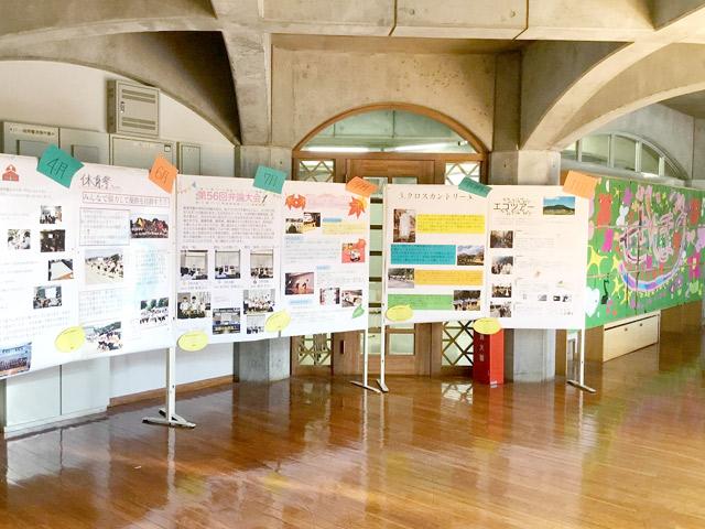櫻高祭(6月) 生徒たちの模擬店も大盛り上がり! タブレットで作った行事の紹介