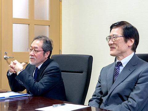 松野先生と角田校長