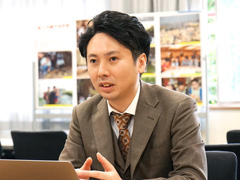 新コース設置統括長 田中 潤先生