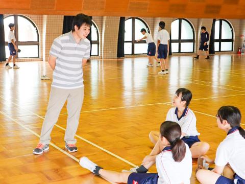 吉澤さんと生徒たち