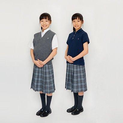 中学校 夏服 女子