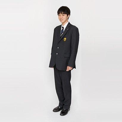 高等学校 冬服 男子