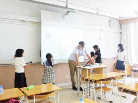 英語教室のようす