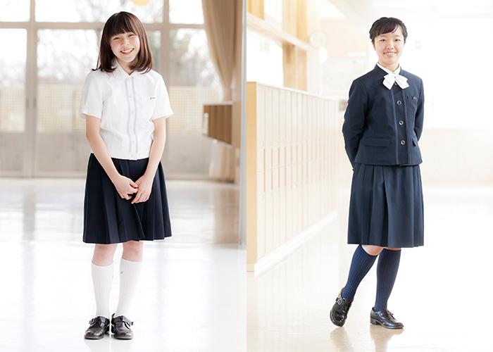 白梅清修の制服1