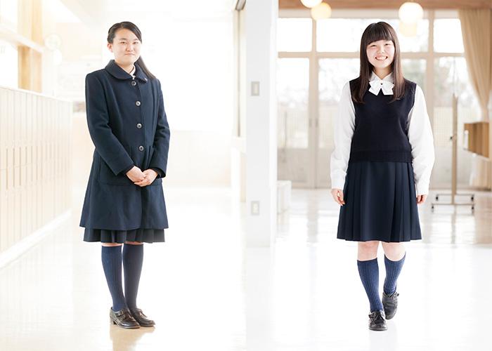 白梅清修の制服2