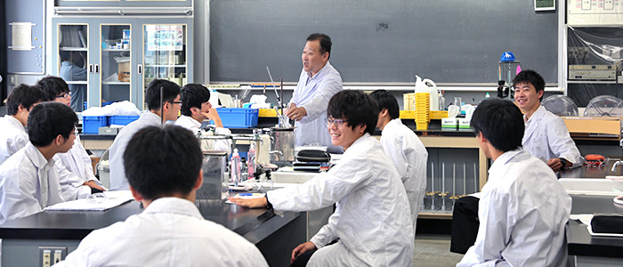 化学の授業