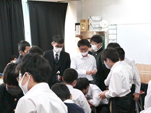 中2生の学校生活