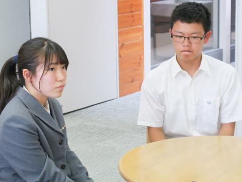 佃さんと吉田くん