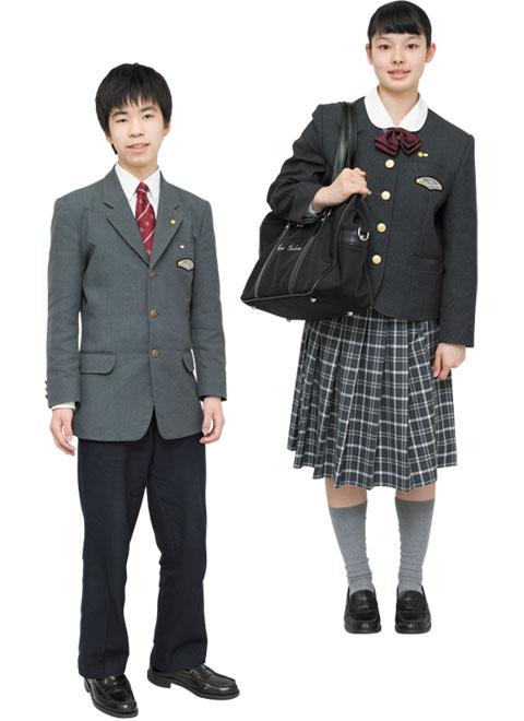 中学校冬服制服