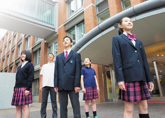 中学校の新制服