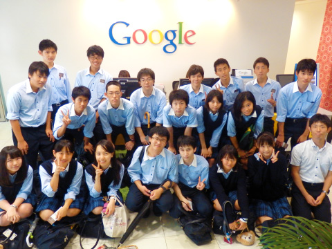 Google japan本社見学
