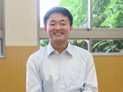 田中拓海くん(筑波大学2年生)