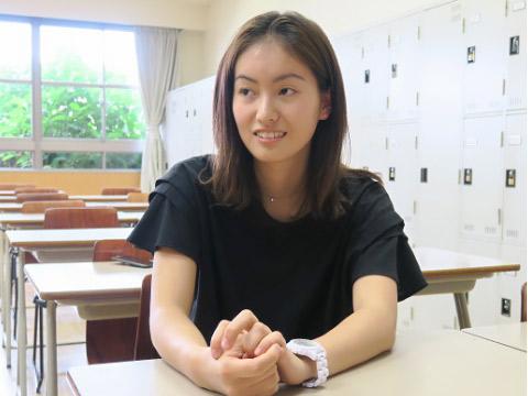 久保田美伶さん(早稲田大学2年生)