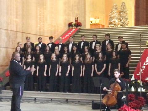 Choirクラスのコンサート