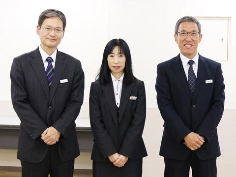 町田先生、福川先生、雨宮先生