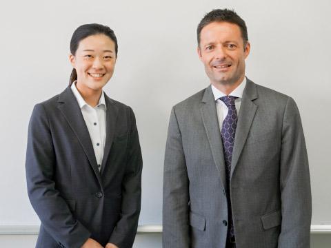 飯岡先生とドリスコル先生