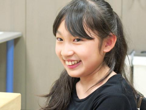 ダンス&チア部 R.Oさん(中1)