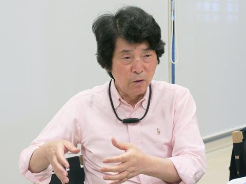 阿部一英語総合研究所所長の阿部一さん。20年以上にわたって獨協大学の英語教育プログラムに携わり、英語入試問題や新カリキュラム改訂の責任者を務めた。