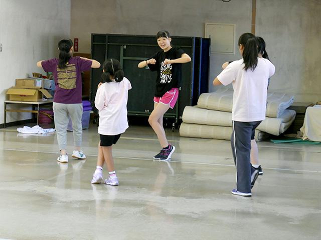 13:30 クラブ体験・ダンス部