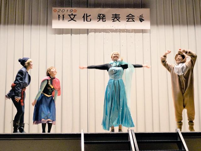 英語劇なでしこ祭では英語劇も披露しました。