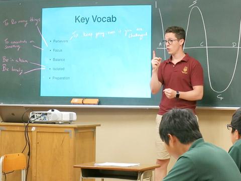 オリー先生のモチベーションカーブの授業