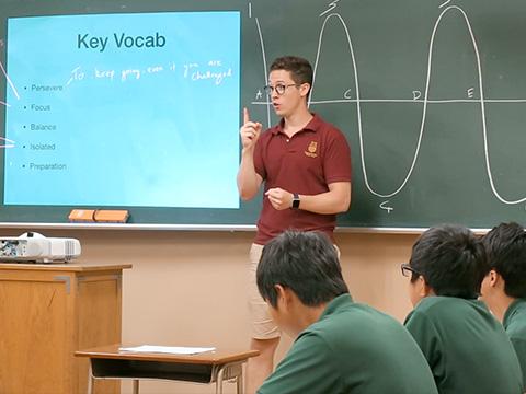 「モチベーションカーブ」の授業