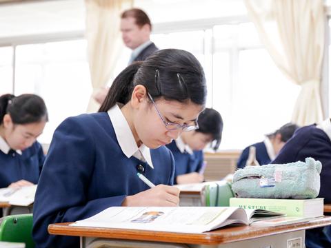 「学び方」の授業では特に、結果ではなくプロセスを重視している。