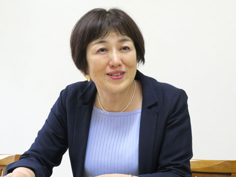 純心の英語教育を語ってくださった、英語科の三田先生