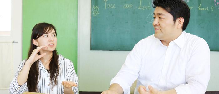 エレーナ先生と山口先生