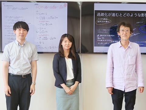 坂本先生、山下先生、石川先生