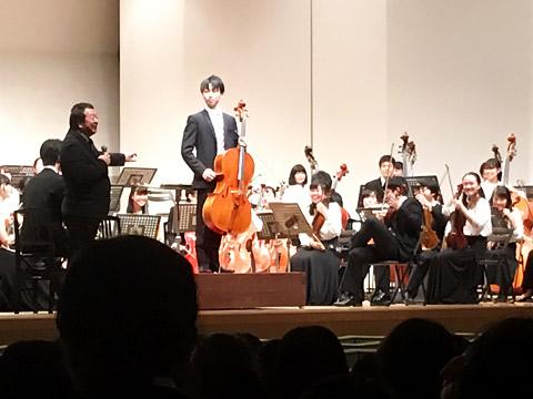 桐朋学園 音楽部門によるBブロックオーケストラ鑑賞会