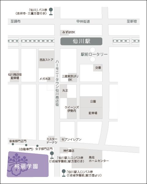 通学路線図