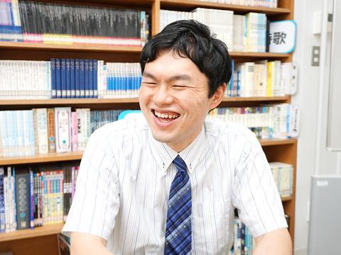 英語科教諭の大滝哲先生