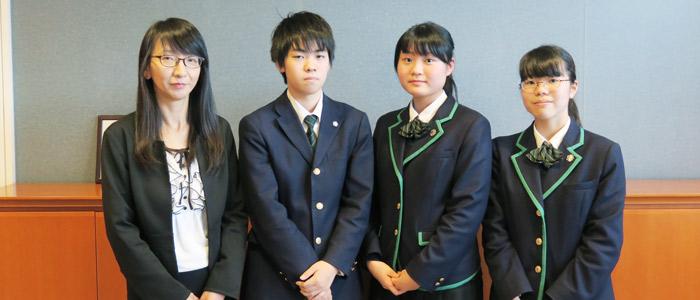 教室を飛び出しLet's English! 上野学園の実践的な学び
