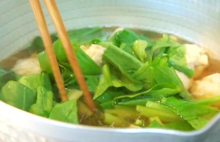 れんこん団子の生姜スープ作り方4