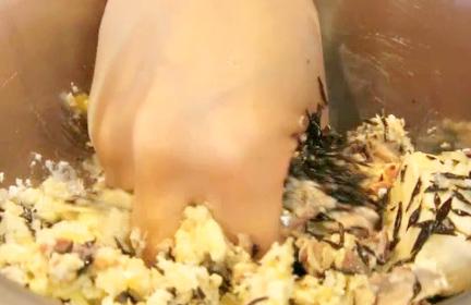 サバ缶ハンバーグ作り方2