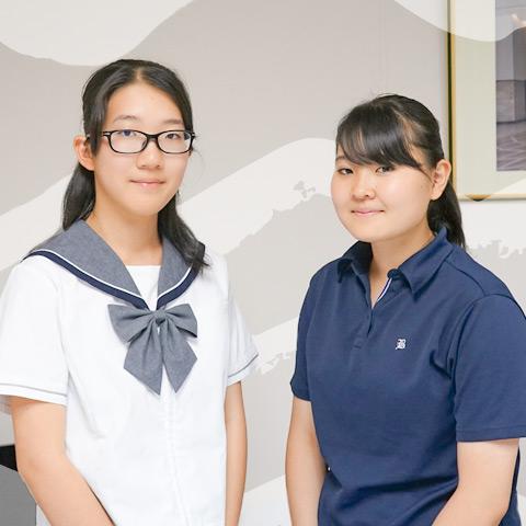 DDコース 高校1年生 小林さんと今井さん