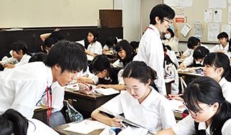 普連土の理数授業