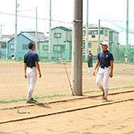 [野球場]笑顔が眩しい野球部の活動