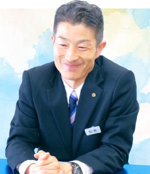 教頭 松﨑慶喜 先生