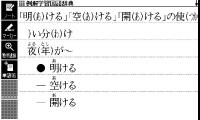 国語辞典 使い分け表