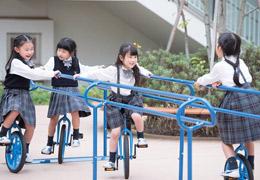 遊学タイム「一輪車で遊ぼう」