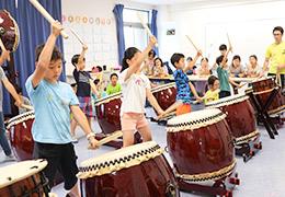 和太鼓で調和の心を育てる