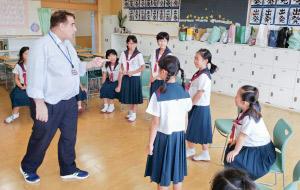 英語の授業