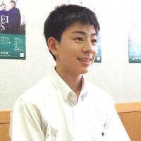 高橋 友さん 中学2年生
