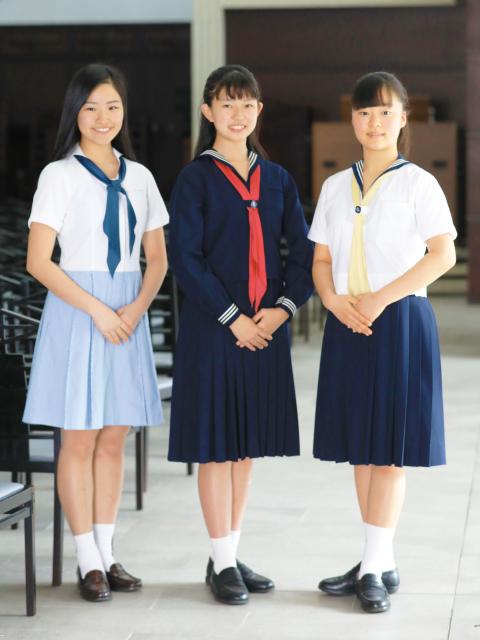 私立中学制服コレクション - 可愛いのはブレザー?セーラー服 ...