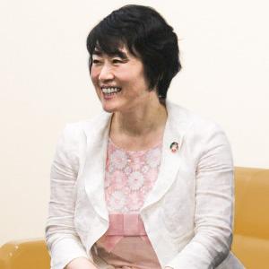 入試広報部長 相澤 智子 先生