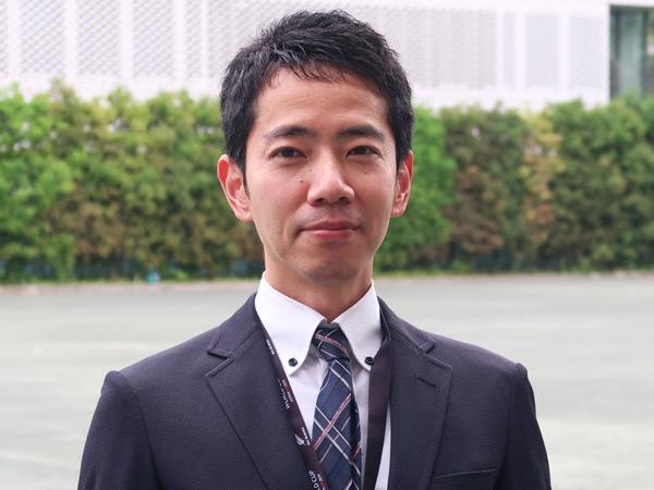 石井先生(数学・中2担当)