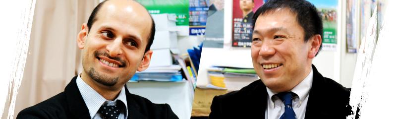 真利久先生・田中先生